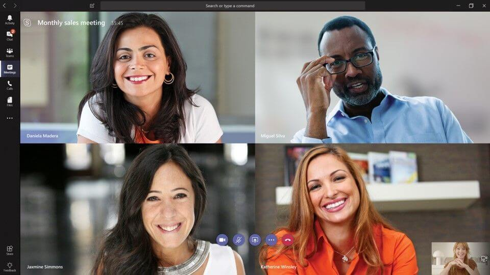 Microsoft Teams meeting Learning Experience Solutions